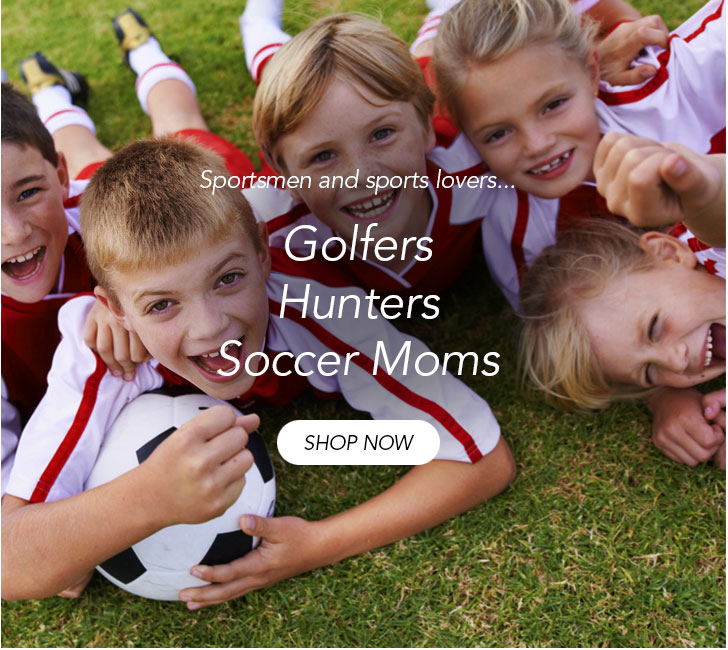 Golfers, hunters and soccer moms