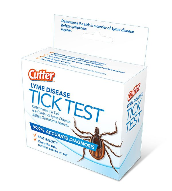 Cutter Lyme Disease Tick Test