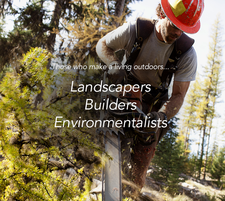 Landscapers, builders and environmentalists